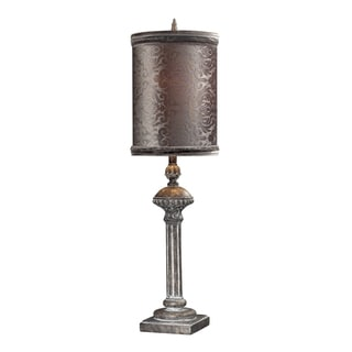 Dimond Lighting 1-Light Restoration Grey Finish Table Lamp