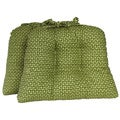 Cabana Trellis Kiwi Chairpads (Set of 2)