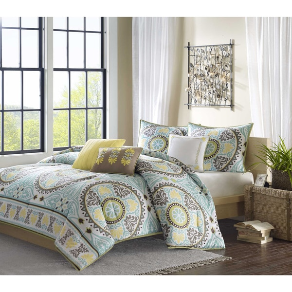 Madison Park Bali 6-piece Duvet Cover Set