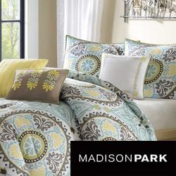 Madison Park Bali 6-piece Duvet Cover Set