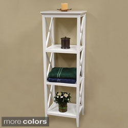 X-Frame Bathroom Towel Tower