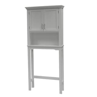 Somerset White Space-Saver Cabinet