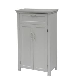 Somerset Two-Door White Floor Cabinet