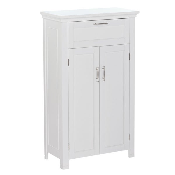 riverridge somerset collection grey mdf single door floor cabinet