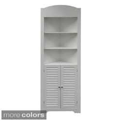 RiverRidge Ellsworth Tall Corner Etagere