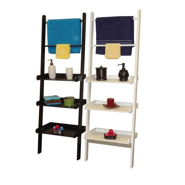 Riverridge Ladder Shelf With Towel Bars 15630944