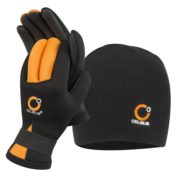 Celsius Neoprene Glove/Hat Combo