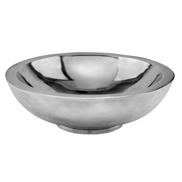 Aluminum Round Decorative Bowl