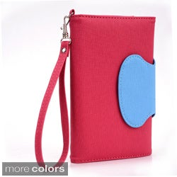 "Kroo Circle Wallet with Wristlet for 6"" SmartPhones"