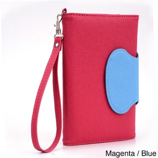 Kroo Circle Wallet with Wristlet for 6