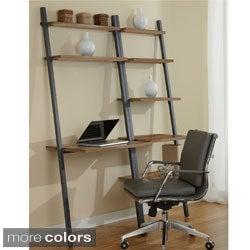 Jesper Office Ladder Desk with Bookcase
