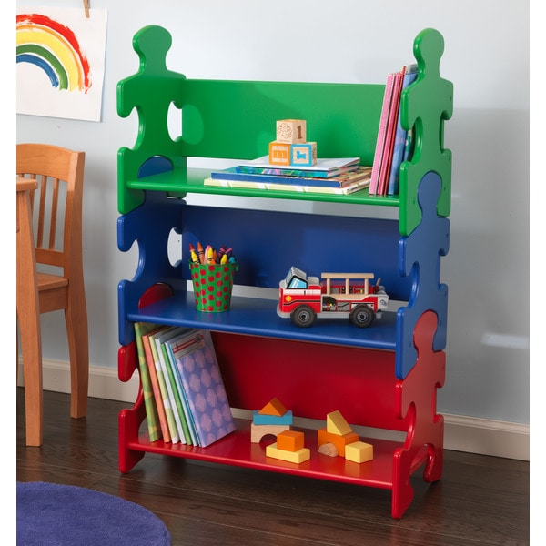 KidKraft Puzzle Book Shelf