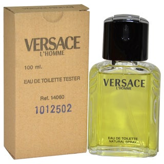 Versace L'Homme Men's 3.3-ounce Eau de Toilette Spray (Tester)