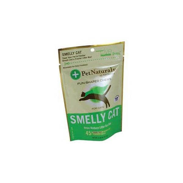 Pet Naturals Of Vermont Smelly Cat Fun-shaped Chews (Pack of 2)