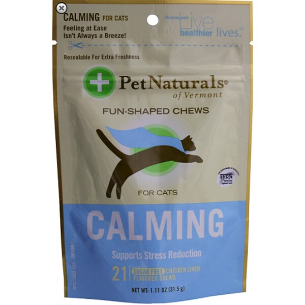 Pet Naturals Of Vermont Calming Fun-shaped Chews