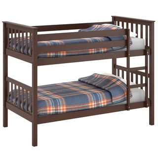 CorLiving Monterey Brown Wood Bunk Bed