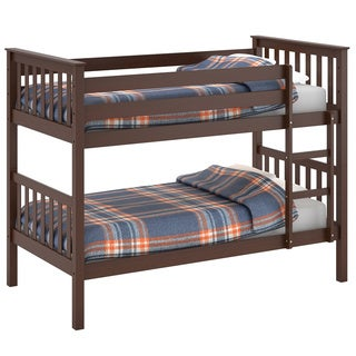 CorLiving Monterey Brown Wood Bunk Bed