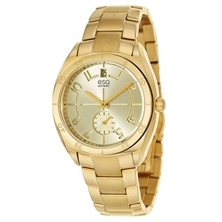 ESQ by Movado Women's 07101401 Goldplated Watch