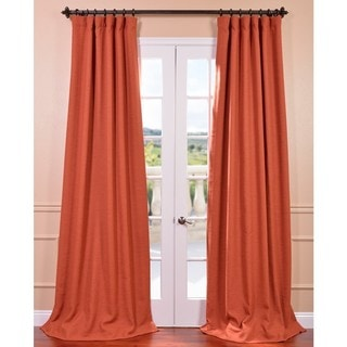 EFF Persimmon Bellino Blackout Curtain Panel