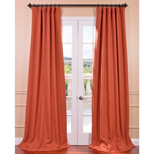 Persimmon Bellino Blackout Curtain Panel