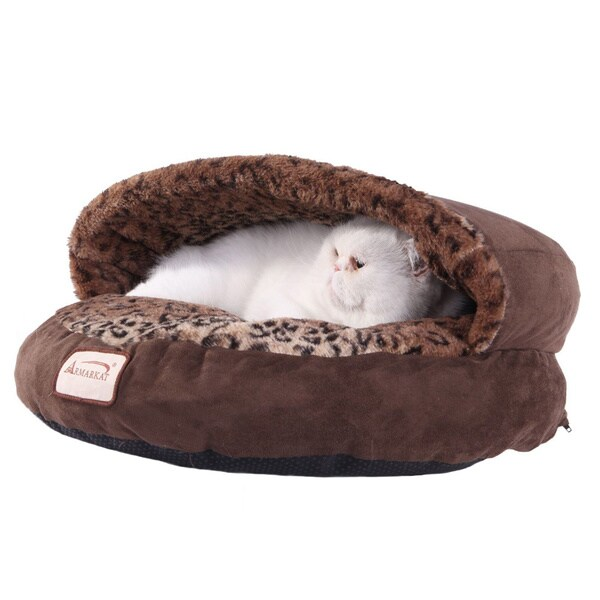 Armarkat Faux Suede Cat Bed