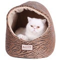 Armarkat Zebra Pring Halo Cat Bed