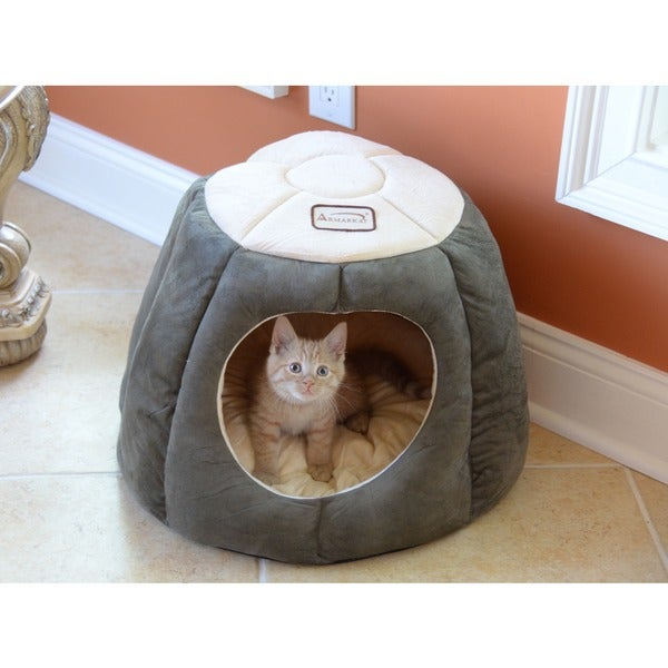 Armarkat Quilted Halo Cat Bed