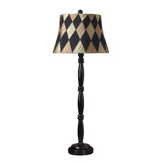 Dimond Lighting 1-light Dark Mahogany Table Lamp