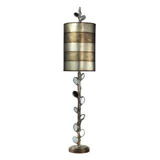 Dimond Lighting 1-light Table Lamp in Mirror and Antique Silver Finish