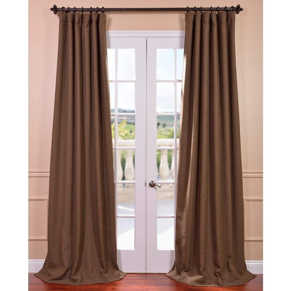 EFF Turkish Coffee Bellino Blackout Curtain at Sears.com
