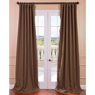 EFF Turkish Coffee Bellino Blackout Curtain Panel