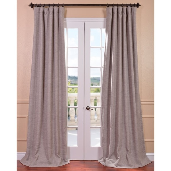 EFF Parisian Taupe Bellino Blackout Curtain Panel