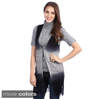 Lily Women's Sleeveless Ombre Sweater Vest