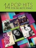 14 Pop Hits For Big-Note Piano (Paperback)