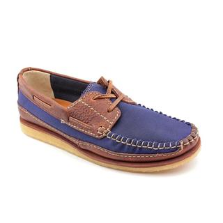 Clarks Originals Men's 'Craft Row' Leather Casual Shoes