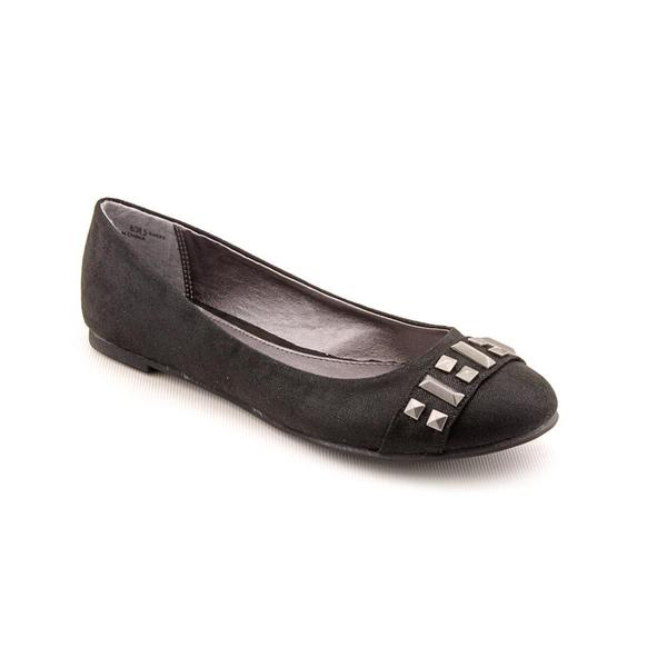 CL By Laundry Women's 'General' Black Basic Textile Dress Shoes