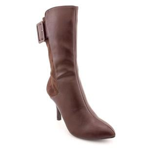 CL By Laundry Women's 'Sheer Bliss' Brown Synthetic Boots