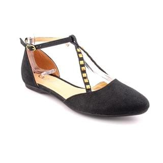CL By Laundry Women's 'Brandee' Black Textile Dress Shoes