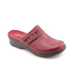 Clarks Women's 'Lexi Redwood' Leather Casual Shoes