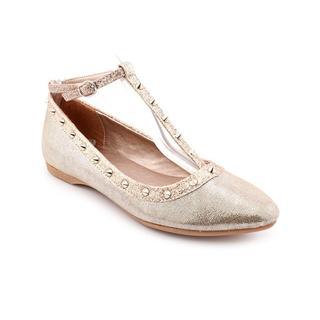 CL By Laundry Women's 'Brigitta' Gold Basic Textile Dress Shoes