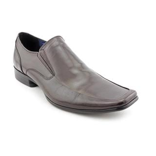 Steve Madden Men's Brown 'Romen' Leather Casual Shoes
