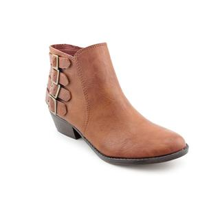 Madden Girl by Steve Madden Women's 'Kreed' Man-Made Brown Boots
