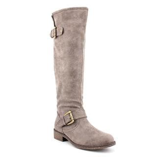 Madden Girl by Steve Madden Women's Brown 'Cactuss' Man-Made Boots