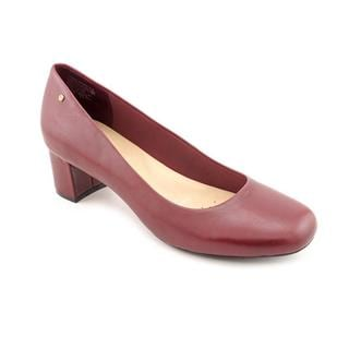Rockport Women's 'Mary' Burgundy Leather Dress Shoes