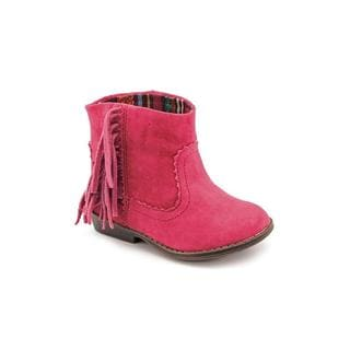 Mini Mia Girl (Toddler) 'Lil Blake' Fabric Boots in Pink