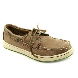 Sperry Top Sider Boy (Youth) 'Spy Cupsole 2 Eye' Leather Casual Shoes (Size 12.5 )