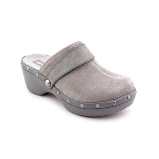 Crocs Women's 'Crocs Cobbler Studded Leather Clog' Regular Suede Casual Shoes