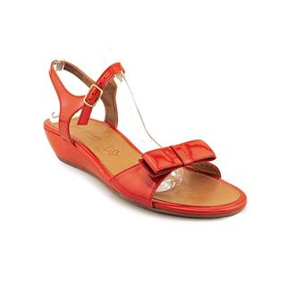 Paul Green Women's 'Lux Wedge' Patent Leather Sandals (Size 10 )