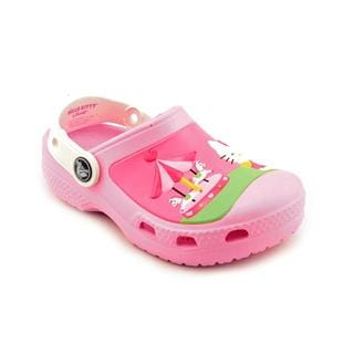 Crocs Girl (Toddler) 'CC Hello Kitty' Synthetic Casual Shoes