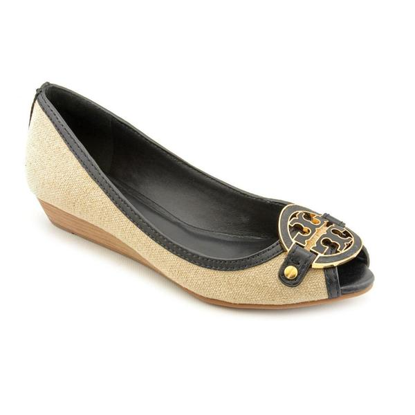 Tory Burch Women's 'Amanda Demi Wedge' Basic Textile Dress Shoes